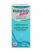 DULCOSOFT JUNIOR Płyn - 100 ml. Sposób na zaparcia u dzieci.