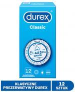 DUREX CLASSIC Prezerwatywy - 12 szt. - cena, opinie, właściwości