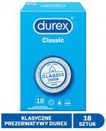 DUREX CLASSIC Prezerwatywy - 18 szt. - cena, opinie, właściwości