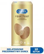 DUREX REAL FEEL Prezerwatywy bez lateksu - 10 szt. - prawdziwe doznania - cena, opinie, stosowanie