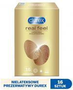 DUREX REAL FEEL Prezerwatywy nowej generacji nie-lateksowe - 16 szt.