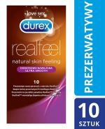 DUREX REAL FEEL Prezerwatywy nowej generacji nielateksowe dodatkowo nawilżane - 10 szt. - Apteka internetowa Melissa
