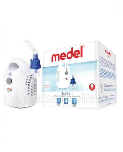 MEDEL FAMILY EVO MY17 Inhalator nebulizator pneumatyczno-tłokowy - 1 szt. - Apteka internetowa Melissa