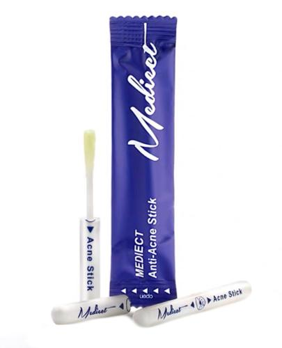 Mediect Naturalny produkt przeciwtrądzikowy Sztyft przeciwtrądzikowy - 0,5 ml x 7 szt. - cena, opinie, skład - Drogeria Melissa