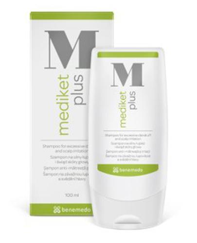 MEDIKET PLUS Szampon przeciwłupieżowy - 100 ml - Apteka internetowa Melissa