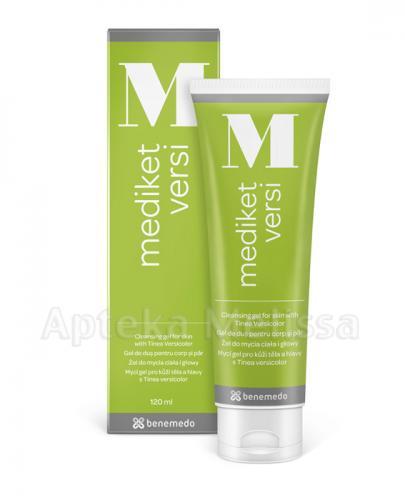 MEDIKET VERSI Żel do mycia ciała i głowy - 120 ml - Apteka internetowa Melissa