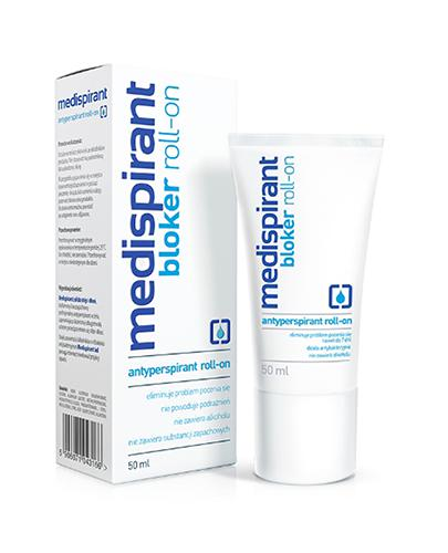 MEDISPIRANT Antyperspirant roll-on - 50 ml - Apteka internetowa Melissa