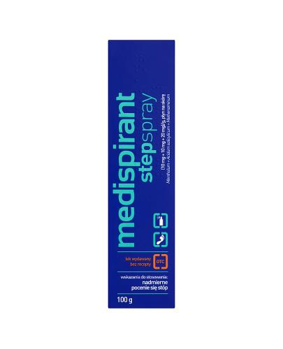 MEDISPIRANT Stepspray - 100 g - Apteka internetowa Melissa