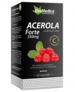 EKAMEDICA ACEROLA FORTE 550 mg - 60 kaps. - Apteka internetowa Melissa