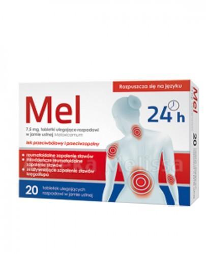 MEL 7,5 mg - 20 tabl.