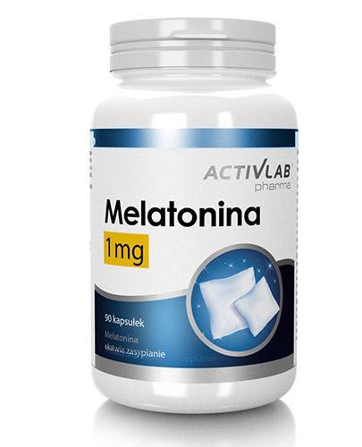 Melatonina 1 mg - 90 kaps. - cena, opinie, wskazania Data wazności 2021.06.13 - Apteka internetowa Melissa