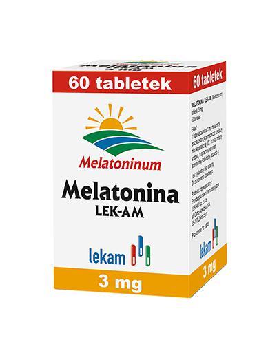 MELATONINA 3 mg - 60 tabl. - ułatwia zasypianie - cena, opinie, wskazania - Apteka internetowa Melissa