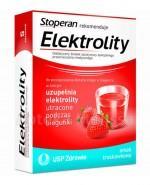 ELEKTROLITY Smak truskawkowy - 5 sasz. (Stoperan rekomenduje)  - Apteka internetowa Melissa