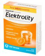ELEKTROLITY Smak pomarańczowy - 7 sasz. (Stoperan rekomenduje) - Apteka internetowa Melissa
