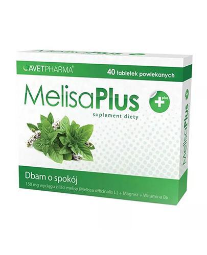 MELISA PLUS - 40 tabl. - Apteka internetowa Melissa