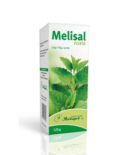MELISAL FORTE Syrop - 125 g - Apteka internetowa Melissa