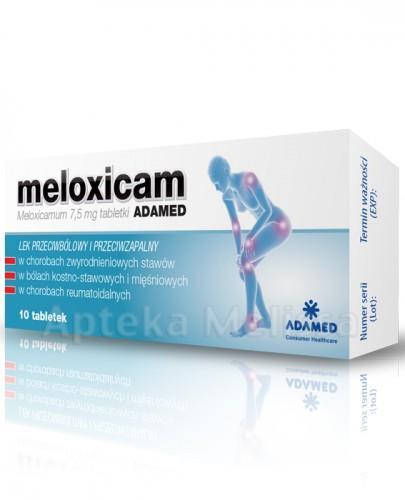 MELOXICAM ADAMED 7,5MG*10 TABL.