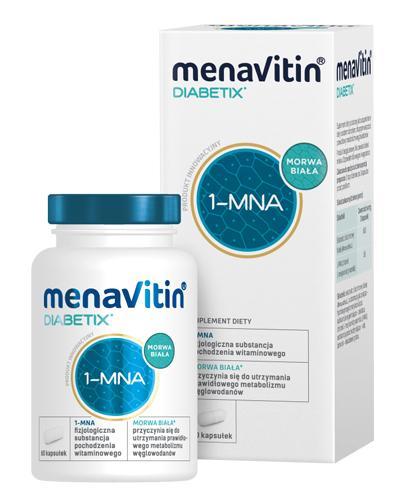 Menavitin Diabetix - 60 kaps. Data ważności 2021.09.30 - Apteka internetowa Melissa