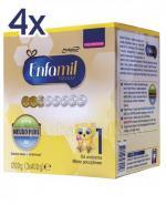 ENFAMIL 1 PREMIUM LIPIL 0-6 mcy Mleko modyfikowane - 4 x 1200 g - Apteka internetowa Melissa