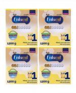 ENFAMIL 1 PREMIUM LIPIL 0-6 mcy Mleko modyfikowane - 4x1200 g - Apteka internetowa Melissa