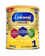 ENFAMIL 1 PREMIUM MFGM 0-6 mcy Mleko modyfikowane w proszku - 800 g - cena, opinie, właściwości
