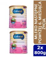 ENFAMIL 2 PREMIUM LIPIL 6-12 mcy Mleko modyfikowane - 2 x 800 g - Apteka internetowa Melissa