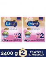 ENFAMIL 2 PREMIUM LIPIL 6-12 mcy Mleko modyfikowane - 2x1200 g - Apteka internetowa Melissa