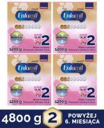 ENFAMIL 2 PREMIUM LIPIL 6-12 mcy Mleko modyfikowane - 4x1200 g - Apteka internetowa Melissa