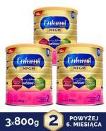 ENFAMIL 2 PREMIUM MFGM 6-12 mcy Mleko modyfikowane w proszku - 3x800 g