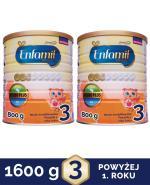 ENFAMIL 3 PREMIUM powyżej 1 roku Mleko modyfikowane - 2 x 800 g  - Apteka internetowa Melissa
