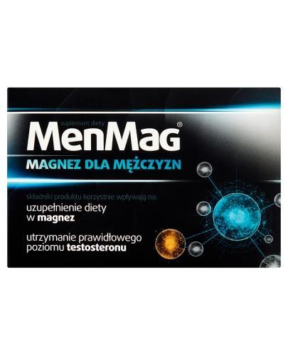 MENMAG Magnez dla mężczyzn - 30 tabl. - Apteka internetowa Melissa