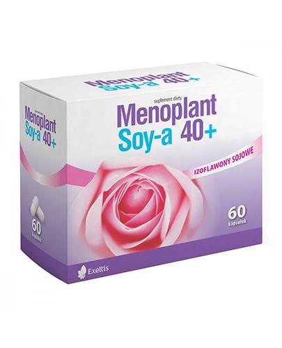 MENOPLANT SOYA 40+ - 60 kaps. - Apteka internetowa Melissa