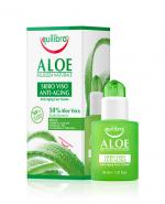 EQUILIBRA Aloesowe przeciwstarzeniowe serum do twarzy z kwasem hialuronowym - 30 ml - Apteka internetowa Melissa
