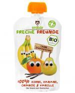ERDBAR Mus banan-pomarańcza-wanilia - 100 g - Apteka internetowa Melissa