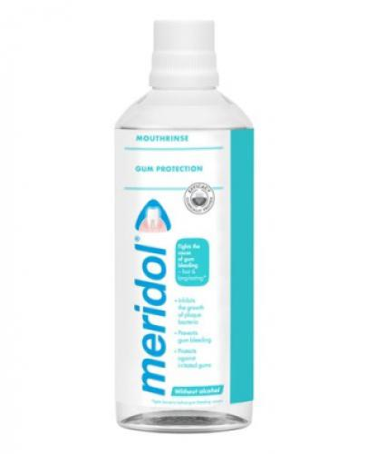 MERIDOL Płyn do płukania jamy ustnej bez alkoholu - 400 ml - cena, opinie, właściwości - Drogeria Melissa