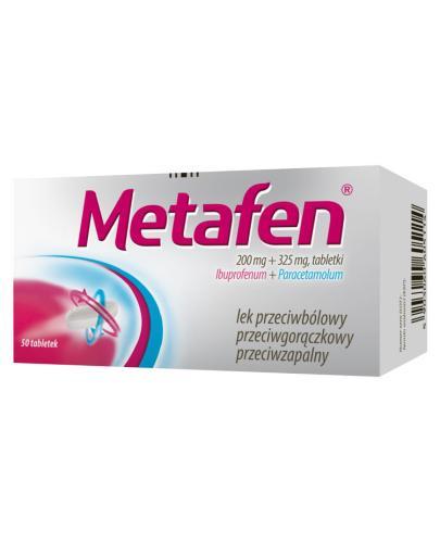 METAFEN -  50 tabl. - Apteka internetowa Melissa