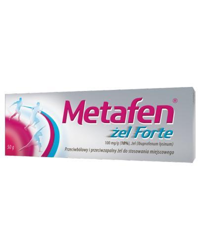 METAFEN FORTE Żel - 50 g - Apteka internetowa Melissa