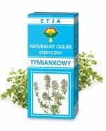 ETJA Olejek tymiankowy - 10 ml - Apteka internetowa Melissa
