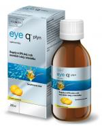 EYE Q Płyn Cytrusowy - 200 ml. Zbilansowane kwasy Omega-3 (EPA, DHA) i Omega-6 (GLA)