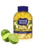 FARMONA FRESH & BEAUTY Rytualna sól do kąpieli z zieloną herbatą i limonką - 600 g - Apteka internetowa Melissa
