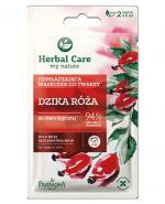 FARMONA HERBAL CARE Odmładzająca maseczka z dziką różą - 2 x 5 ml - Apteka internetowa Melissa