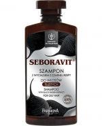 FARMONA SEBORAVIT Szampon z wyciągiem czarnej rzepy do włosów tłustych - 330 ml - Apteka internetowa Melissa