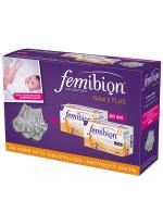 FEMIBION NATAL 2 PLUS - 2x30 tabl. + 2x30 kaps. + 3 pary bawełnianych skarpetek GRATIS - Apteka internetowa Melissa