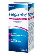 FLEGAMINA Syrop o smaku malinowym 4 mg/5 ml - 200 ml