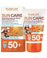 FLOS-LEK SUN CARE Krem ochronny na słońce SPF 50+ - 50 ml  - Apteka internetowa Melissa