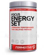 FORMOTIVA FOCUS ENERGY SET Smak winogron - 480 g - Apteka internetowa Melissa