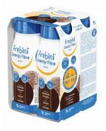 FREBINI ENERGY FIBRE DRINK O smaku czekoladowym - 4 x 200 ml - Apteka internetowa Melissa