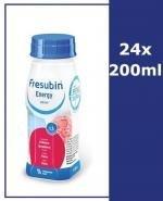 FRESUBIN ENERGY DRINK O smaku truskawkowym - 24 x 200 ml - Apteka internetowa Melissa