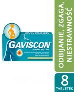 GAVISCON - 8 tabl. do rozgryzania i żucia