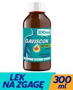 GAVISCON Zawiesina doustna - 300 ml - na zgagę i niestrawność - cena, dawkowanie, opinie